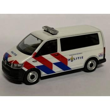 Herpa 941921 Volkswagen T6 Politie ***NIeuwe Striping***