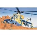 Italeri 0014 Helicopter MIL-24 HIND D/E bouwpakket 1:72