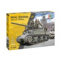 Italeri 6568 M4A1 SHERMAN with U.S. infantry 1:35