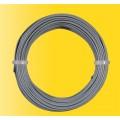 Viessmann 6868 Rol draad 10m 0,14mm2 kern grijs